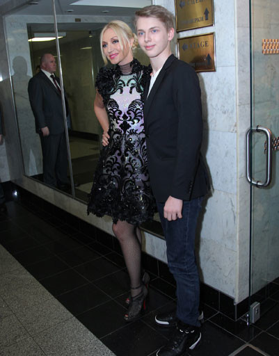 Кристина Орбакайте с сыном Дени