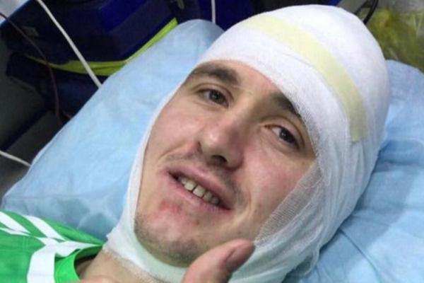 Недавно футболист попал в больницу из-за столкновения с соперником на поле
