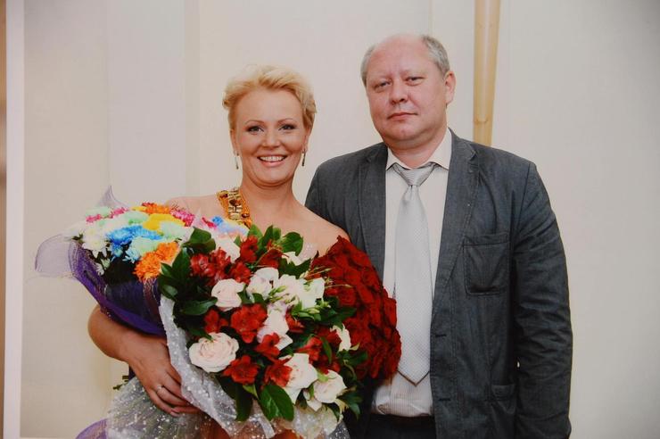 Константин Глушков c супргугой