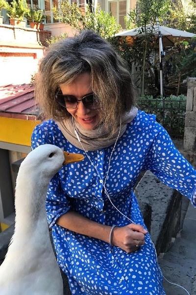 Оксана Фандера не скрывает возрастных изменений