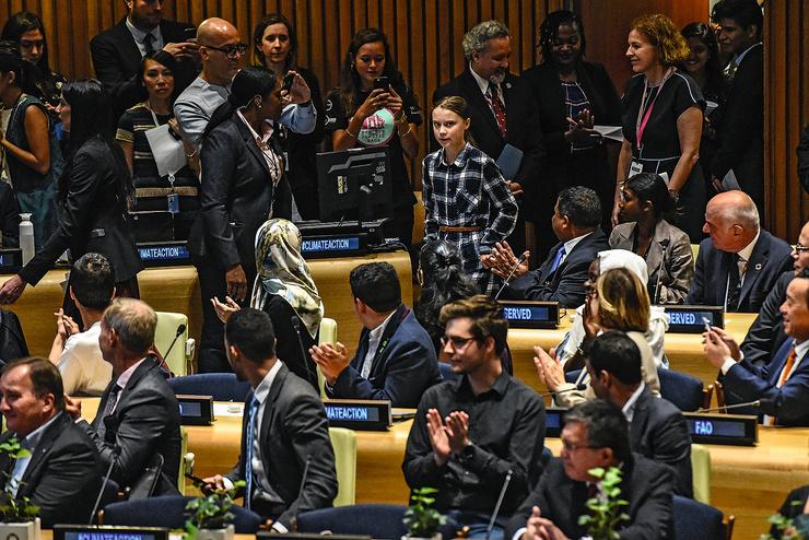 В ООН речь шведской школьницы произвела фурор