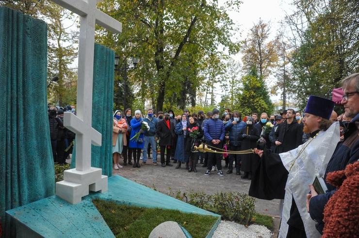 На церемонии присутствовали многие коллеги Захарова