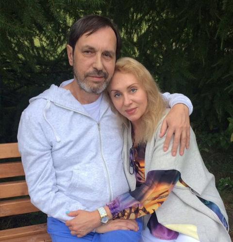 Николай Носков с женой Мариной