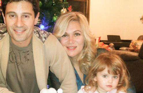 Антон, Виктория и Мария Макарские
