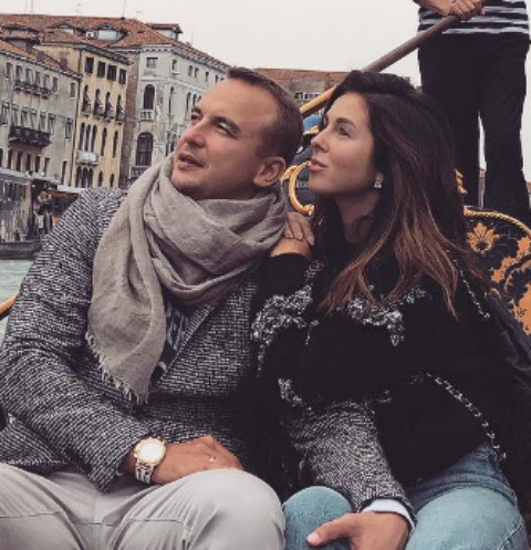 Нюша с мужем Игорем Сивовым
