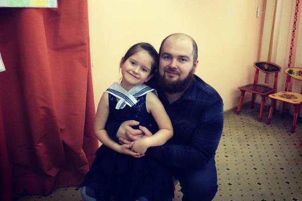 Сердюк с дочерью Соней