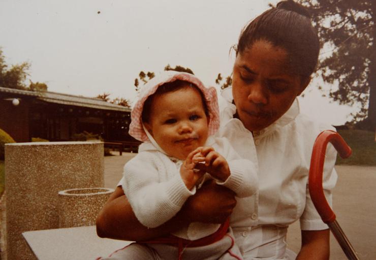 Меган провела большую часть детства с матерью и бабушкой