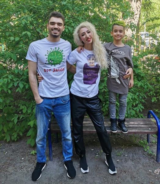 Сыновья блогера рады, что мама нашла вторую половинку