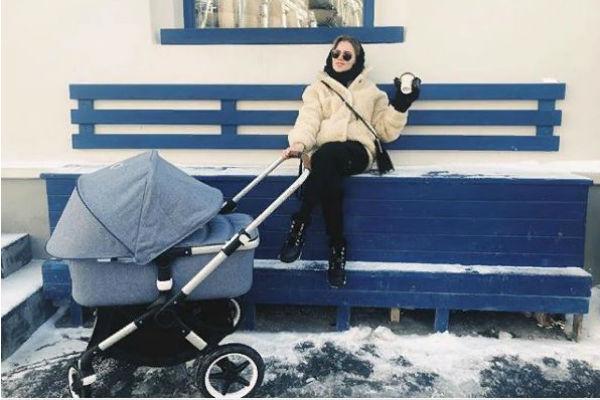 Мельникова и Смольянинов воспитывают двоих детей