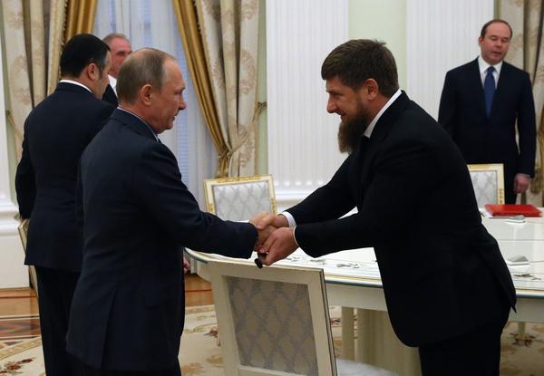 В знак уважения к Владимиру Путину Рамзан Кадыров провел масштабную акцию