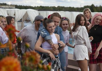 Влад Соколовский и Люся Чеботина сыграли любовь на фоне слухов о романе