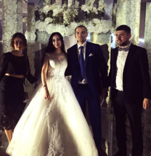 Свадьба дочери судьи Елены Хахалевой
