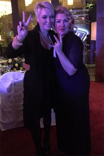 Катя Лель и Ева Польна