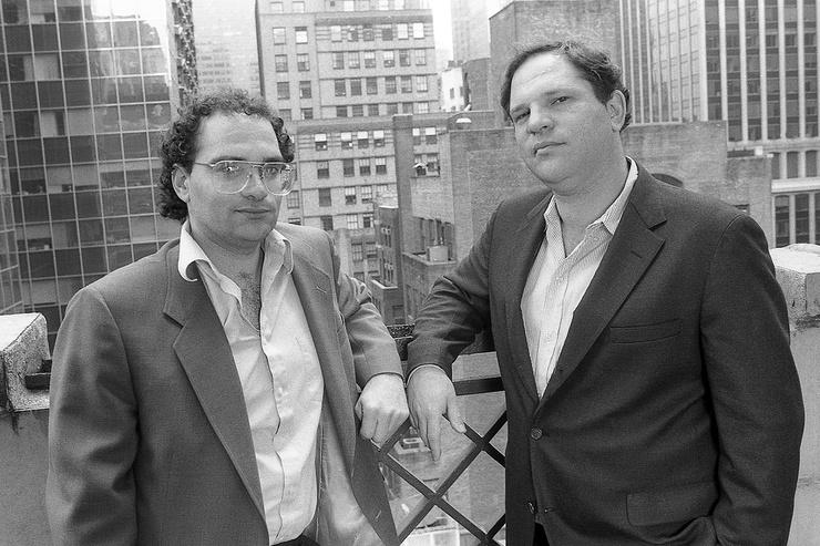 Харви и Роберт Вайнштейн с детства мечтали работать в киноиндустрии