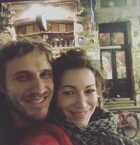 Александр Синюшин и Алена Хмельницкая