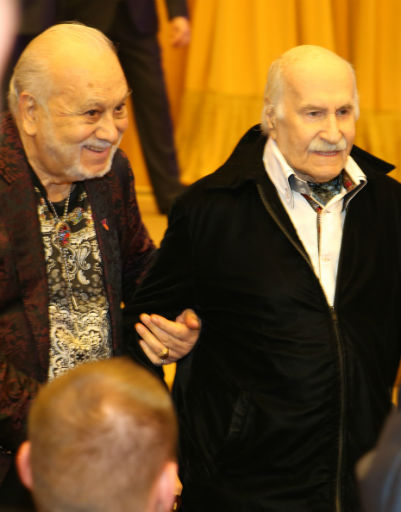 Бедрос Киркоров и Владимир Зельдин