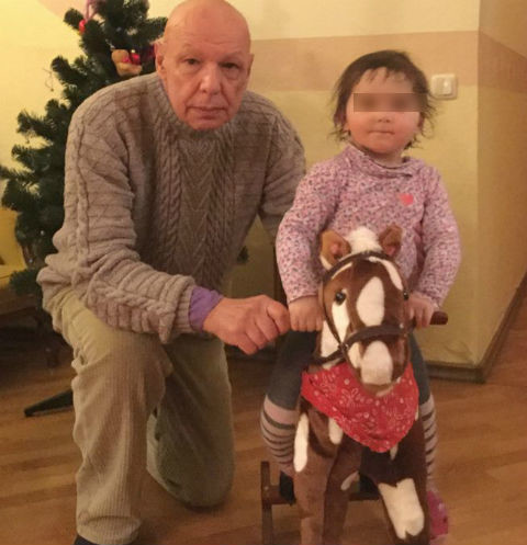 Игорь Дудинский с дочерью Соней