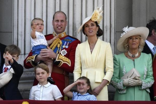 У принца Уильяма и Кейт Миддлтон трое детей