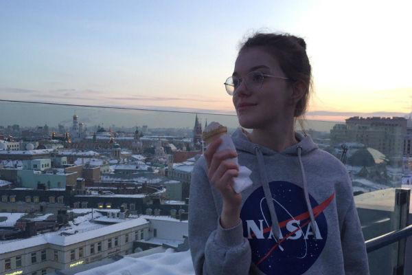 17-летняя  Анна Шалевич благодарна отцу за то, что научил ее добиваться  целей
