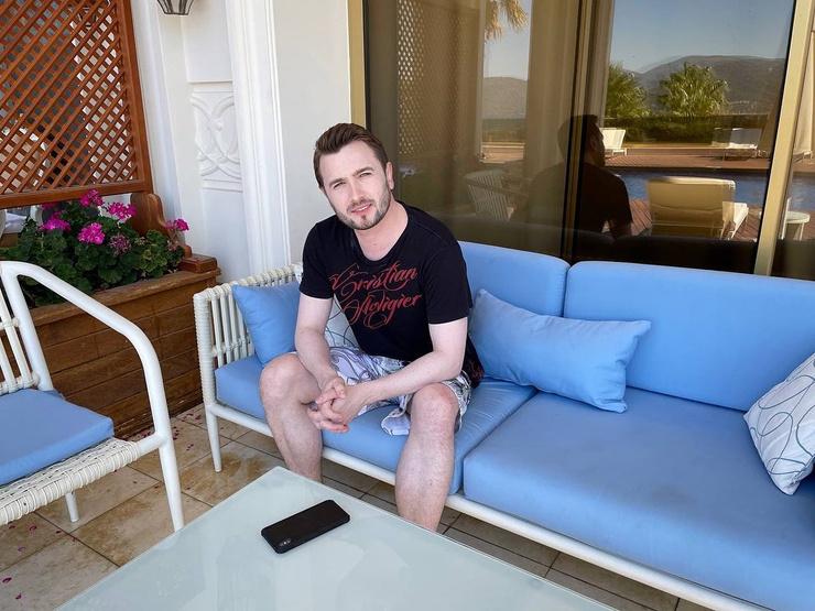 На отдыхе в Турции Кадони был со своей девушкой