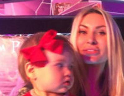 Элина Камирен отметила первый день рождения дочери