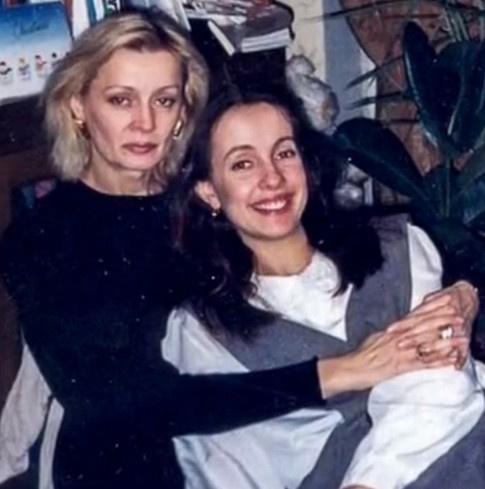 Нелли Пшенная с дочерью Евгенией
