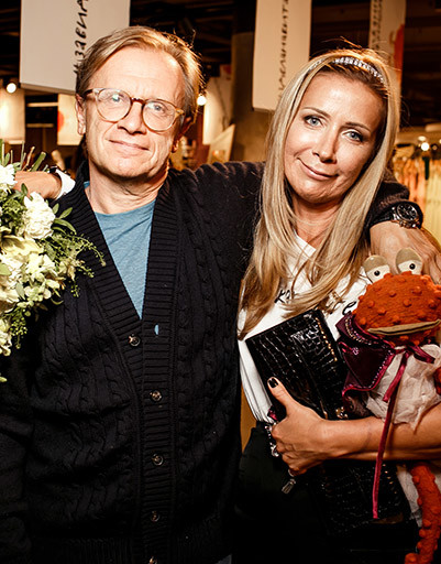 Ника Белоцерковская с мужем Борисом