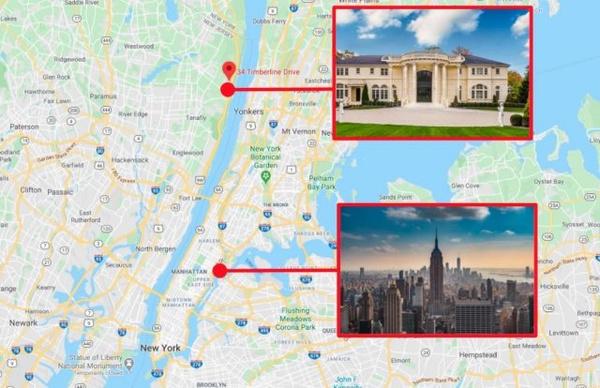 Дом и две квартиры на Манхэттене находятся в 20 километрах друг от друга
