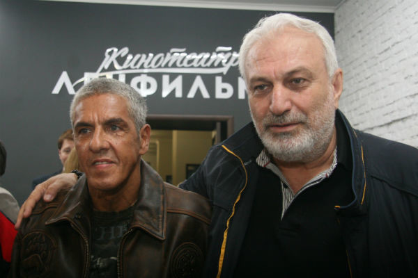 Сами Насери и Григор Гярдушян будут снимать новый фильм в стенах «Ленфильма»