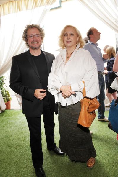 Лора Квинт с мужем Андреем Биллем
