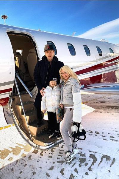 Рудковская может себе позволить перелеты на частном самолете