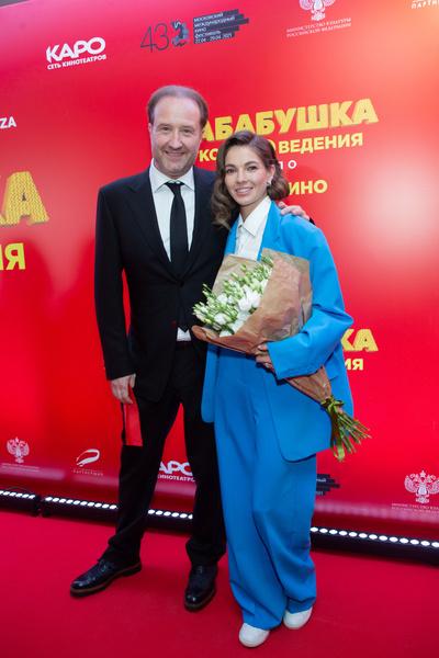 Марюс Вайсберг и Наташа Бардо