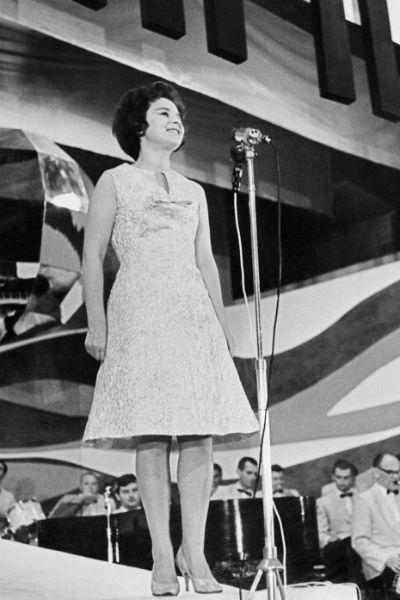 В СССР имя певицы гремело на всю страну. В ее репертуаре более 400 песен