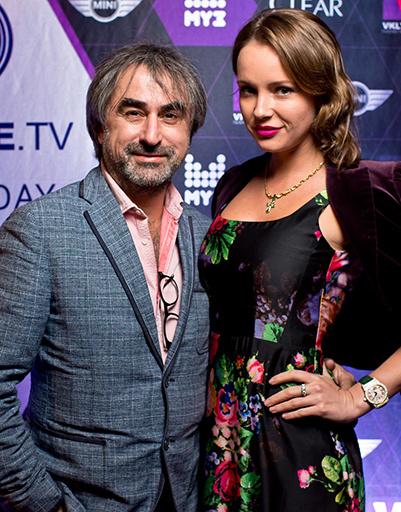 Александр Толмацкий с женой Анной