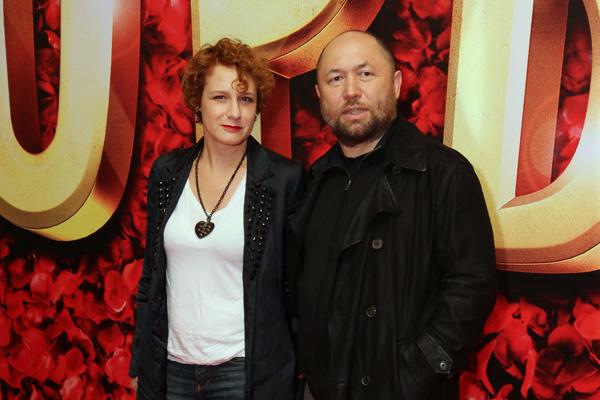 Режиссер с первой женой Варварой