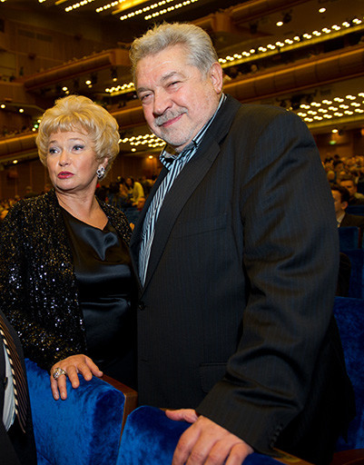 Людмила Нарусова и Юлий Гусман