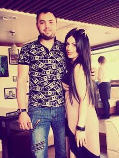 Александр Гобозов и его предполагаемая любовница Виктория Янгазов