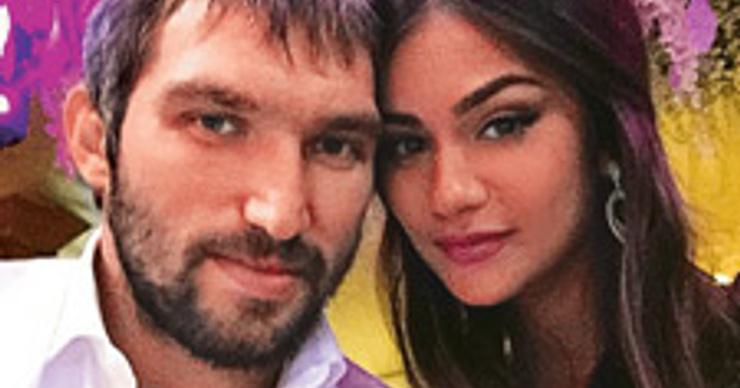 Александр Овечкин обвенчается с Анастасией Шубской