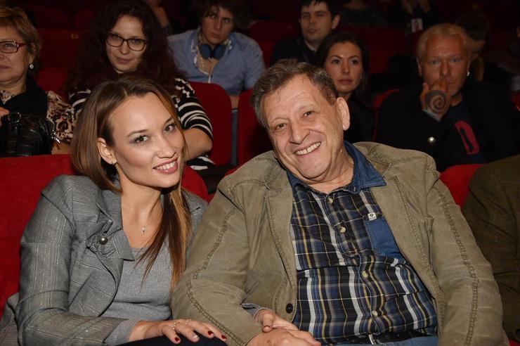 Грачевский с женой Екатериной Белоцерковской