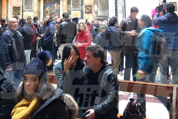 Новогодние каникулы Цекало и Эрвин провели в Риме