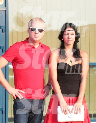 Сергей и Анастасия уже не скрывают свою любовь
