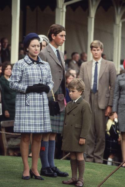 Маргарет особенно любила старшего племянника, принца Чарльза
