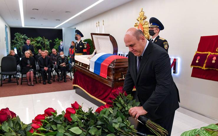 Глава правительства Михаил Мишустин