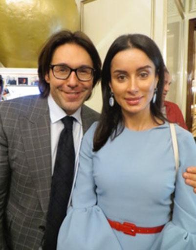 Андрей Малахов и Тина Канделаки