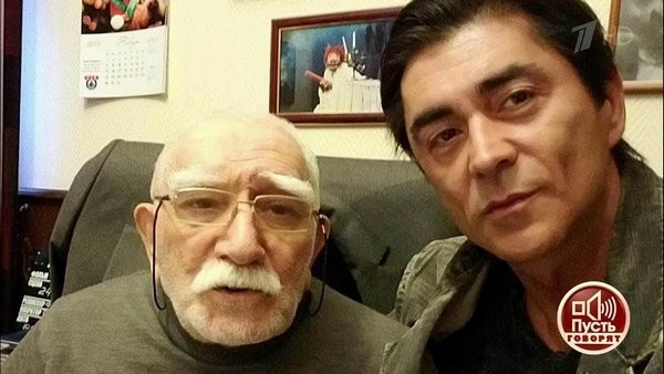 Армен Джигарханян с пасынком