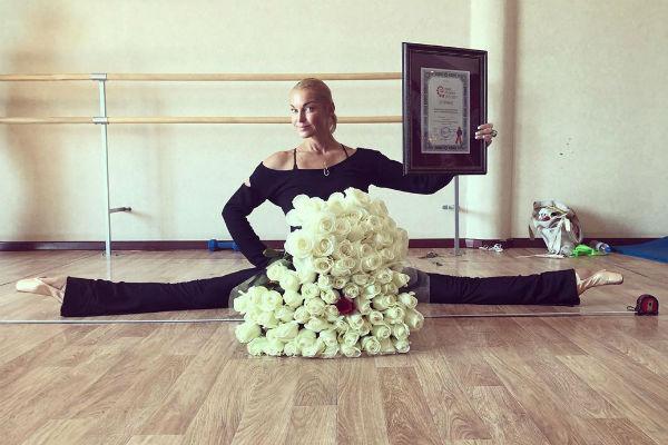 Балерина установила рекорд