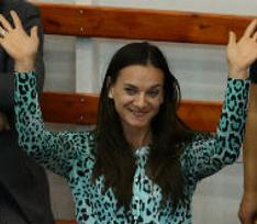 Елена Исинбаева отказалась комментировать появившийся живот