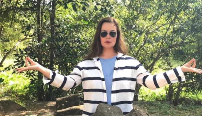 Екатерина Андреева осваивает новую профессию за рубежом