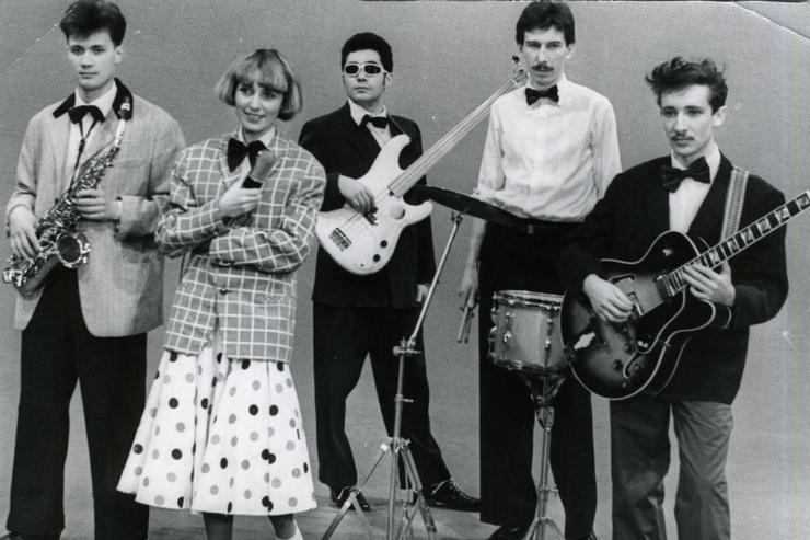 В 1983-м певица попала в группу «Браво»