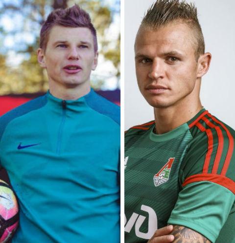 Андрей Аршавин и Дмитрий Тарасов